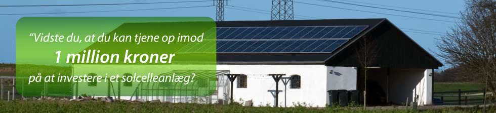 CNS-Energi - Invester i et solcelleanlæg og tjen miljøet samt din pengepung